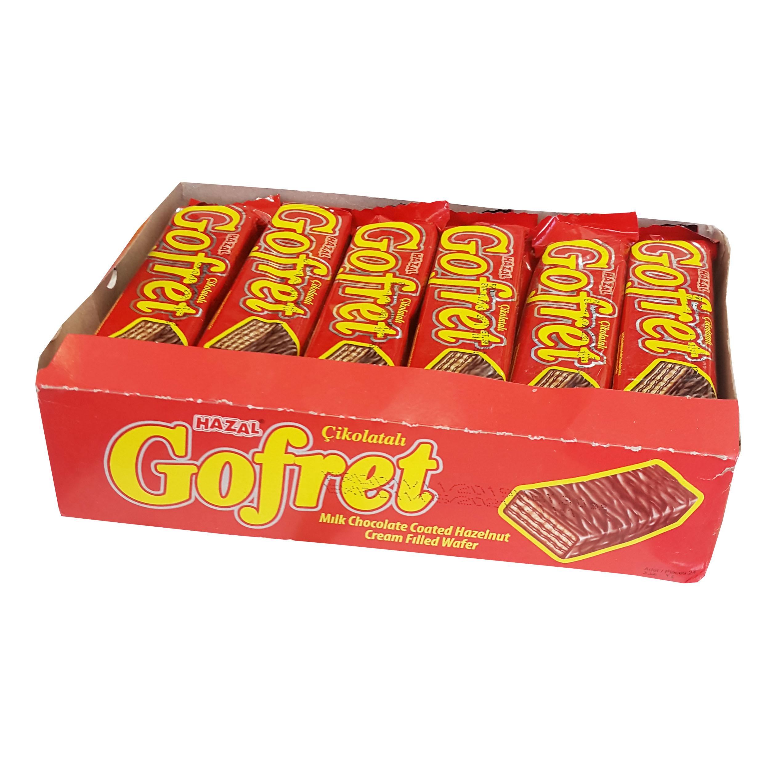 بیسکویت Gofret Ulker بسته ۲۴ عددی کد ۸۹۸۹