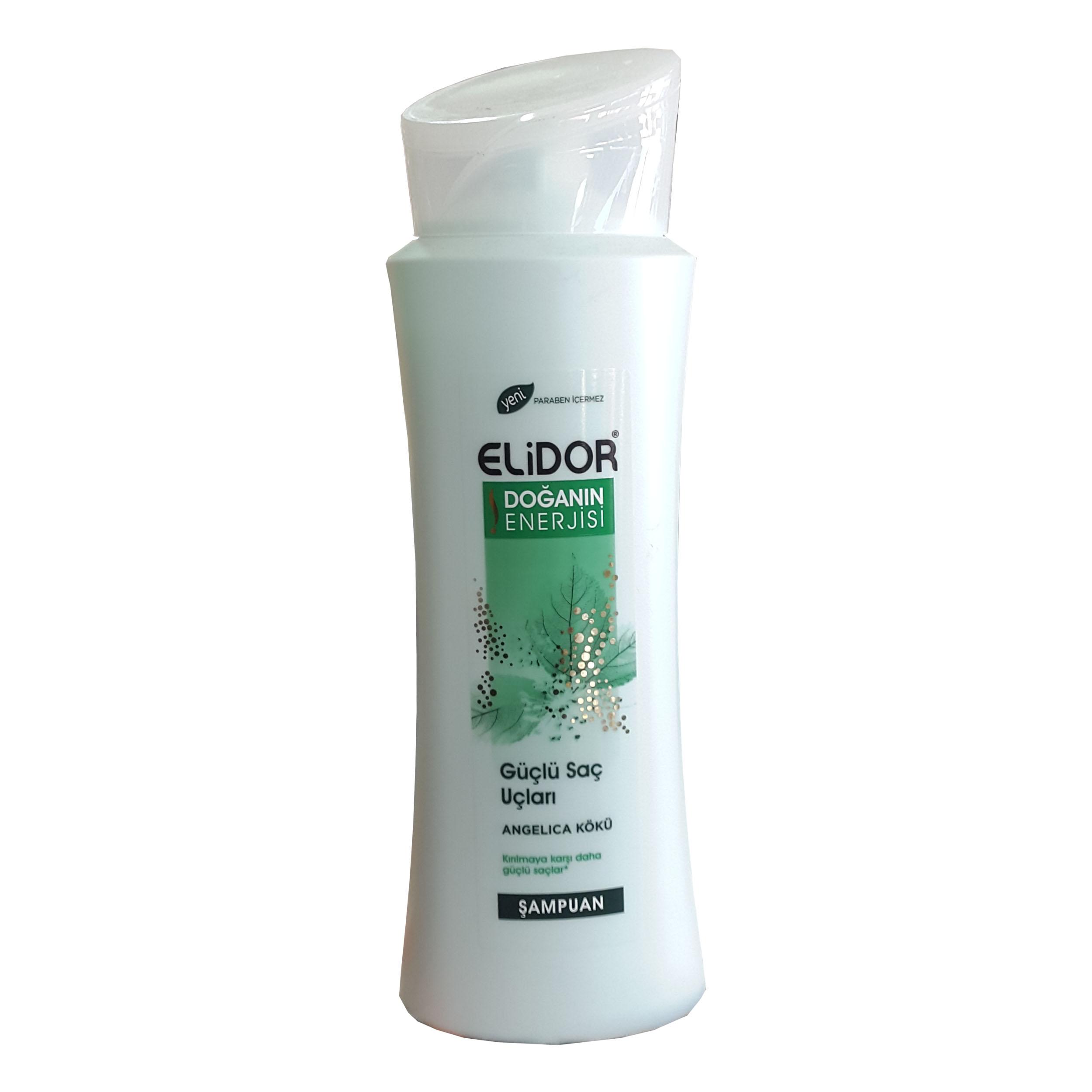 شامپو (Elidor) الیدور سفید ترکیه مخصوص موهای آسیب دیده حجم ۵۵۰ میلی کد ۸۹۸۹۹