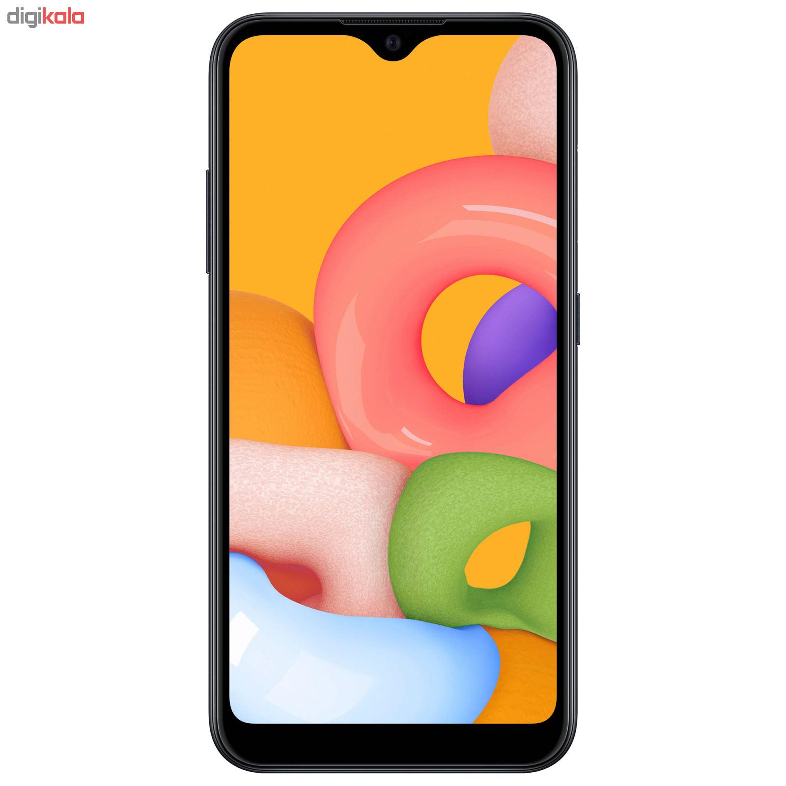 گوشی موبایل سامسونگ مدل Galaxy A01 SM-A015F/DS دو سیم کارت ظرفیت ۱۶ گیگابایت