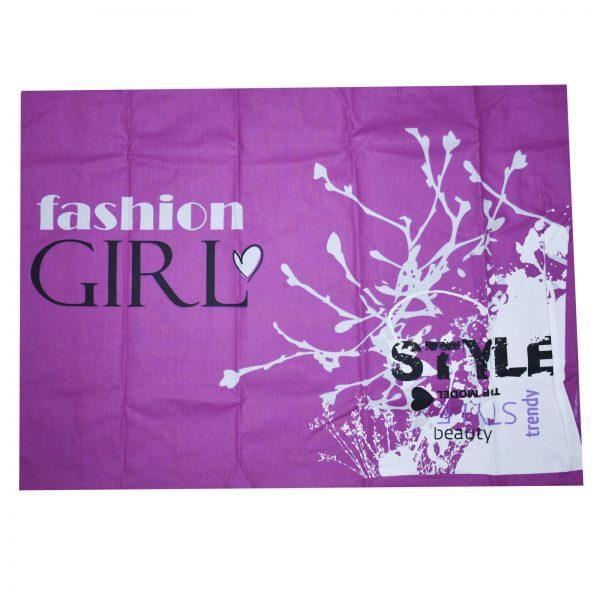 سرویس ملحفه ایسیمو هوم مدل Fashiongiril یک نفره 3 تکه