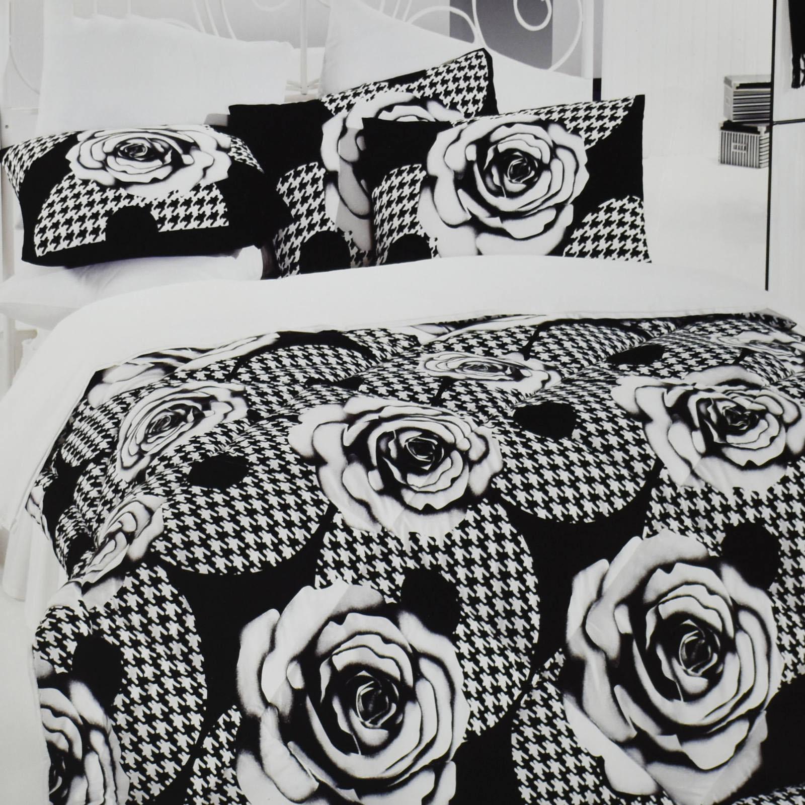 سرویس خواب کوپنیک نفره ۵ تکه مدل Black flowers