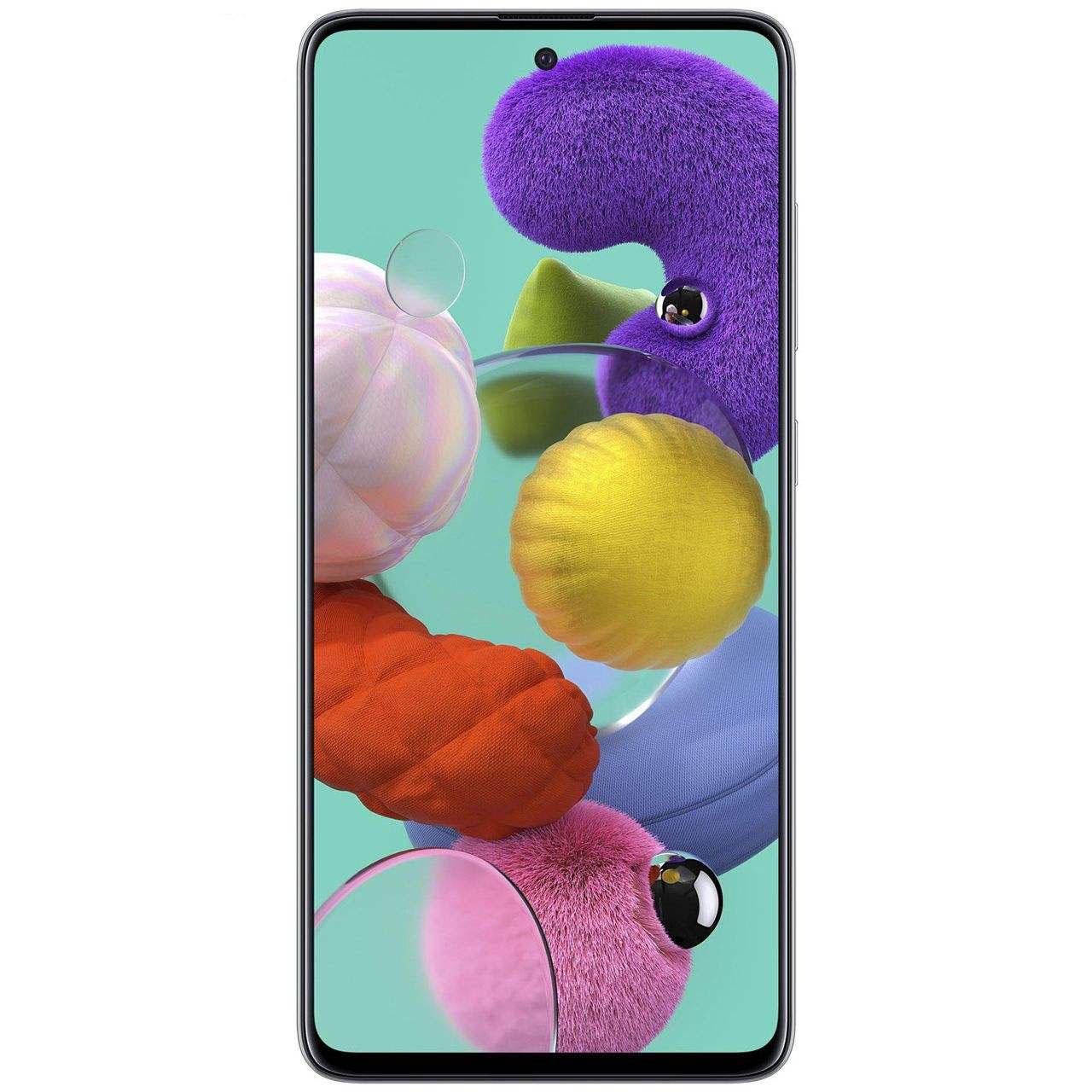 گوشی موبایل سامسونگ مدل Galaxy A51 دو سیم کارت ظرفیت ۱۲۸گیگابایت