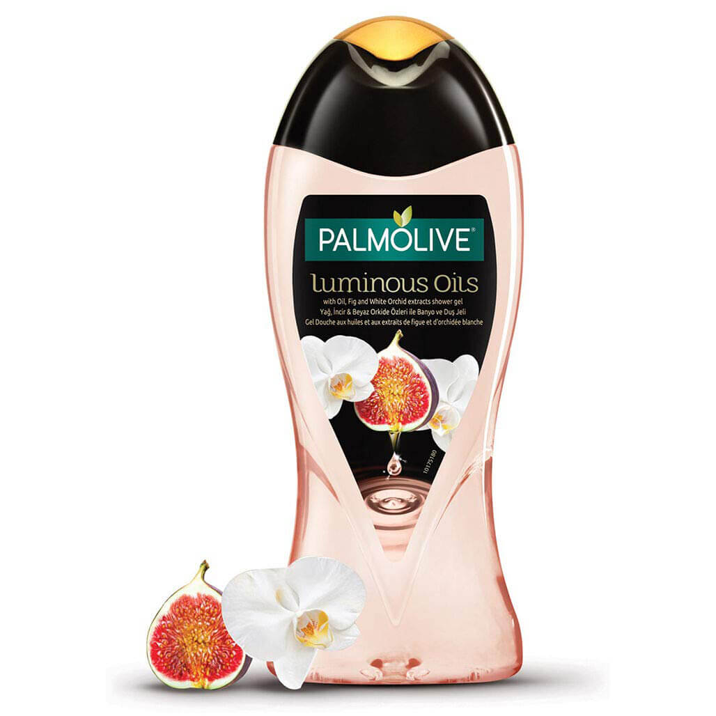 شامپو بدن انجیر و گل ارکیده پالمولیو Luminous Oils حجم ۵۰۰ میلی لیتر