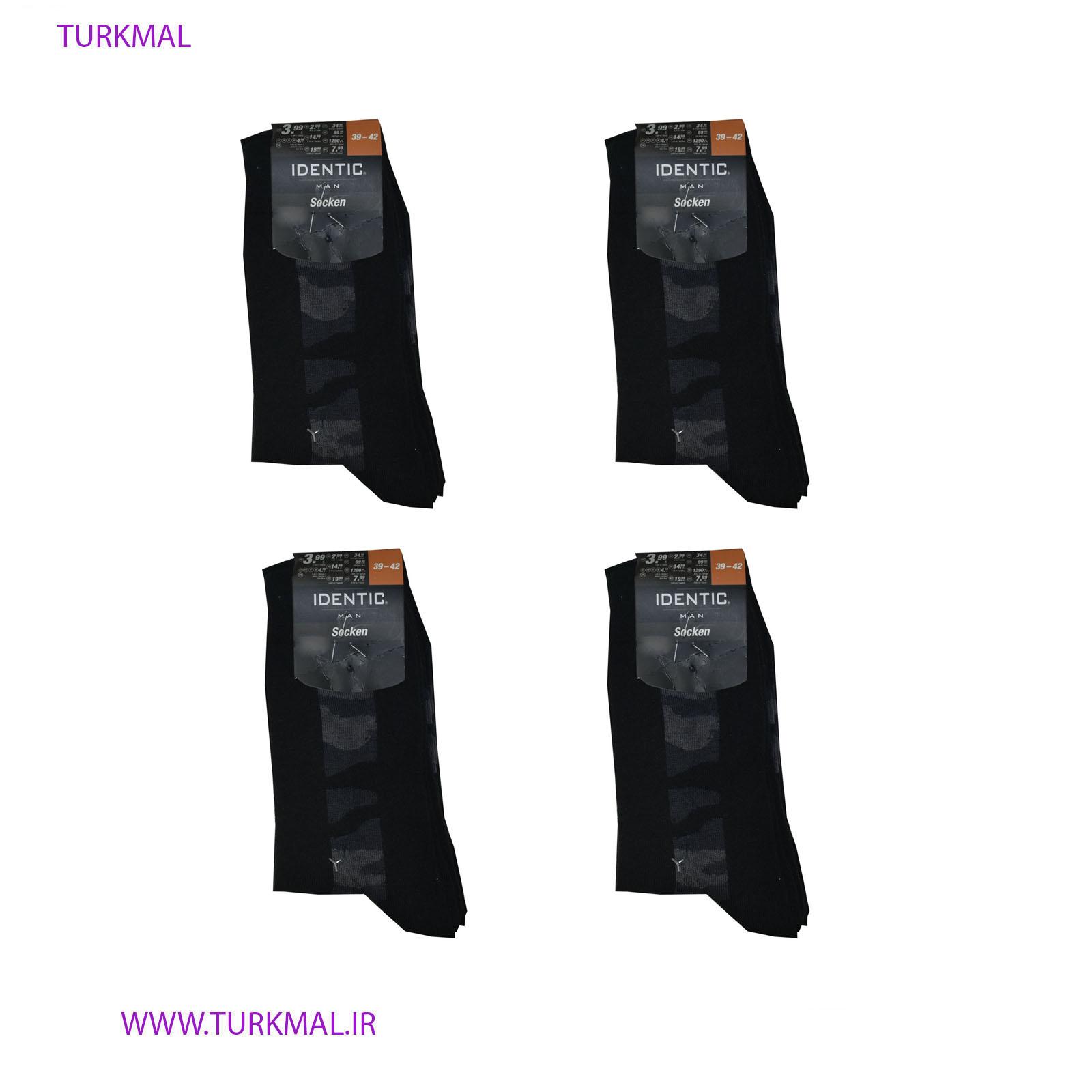 جوراب مردانه INFINITY بسته ۴ عددی