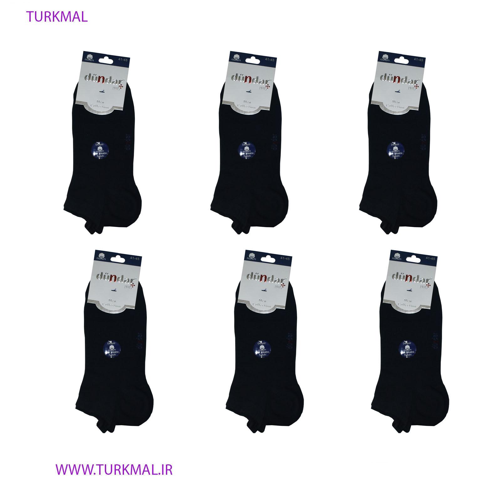 جوراب زنانه دوندار مدل بامبو بسته ۶ عددی