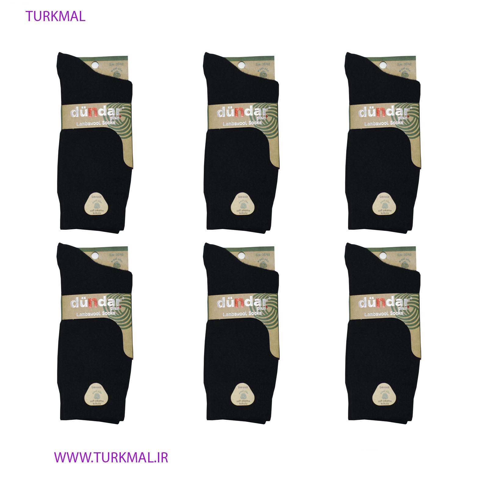 جوراب زنانه دوندار مدل SSSE-78 بسته ۶ عددی