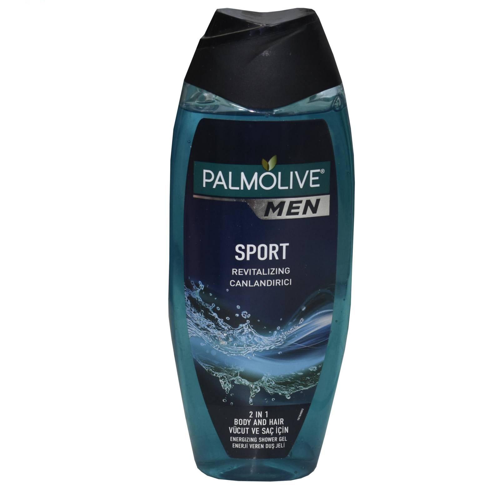 شامپو مو و بدن پالمولیو مدل Sport حجم ۵۰۰ میلی لیتر