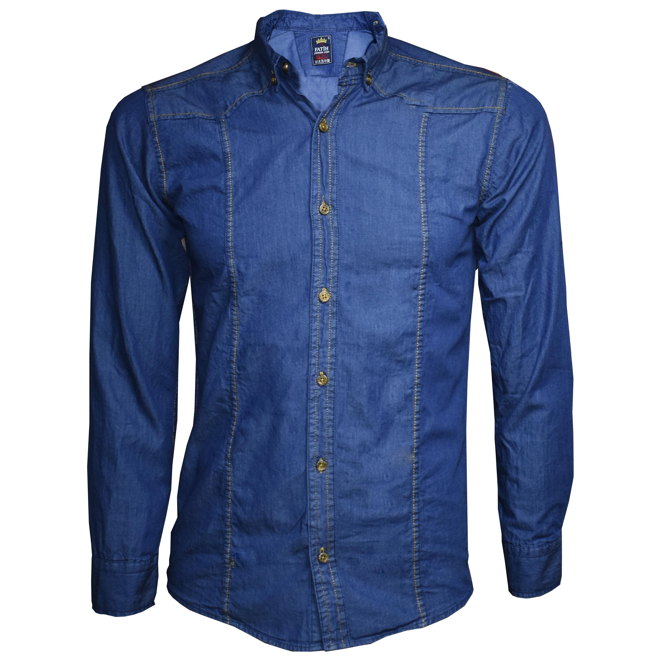 پیراهن مردانه فاتهی مدل ۸۵۴