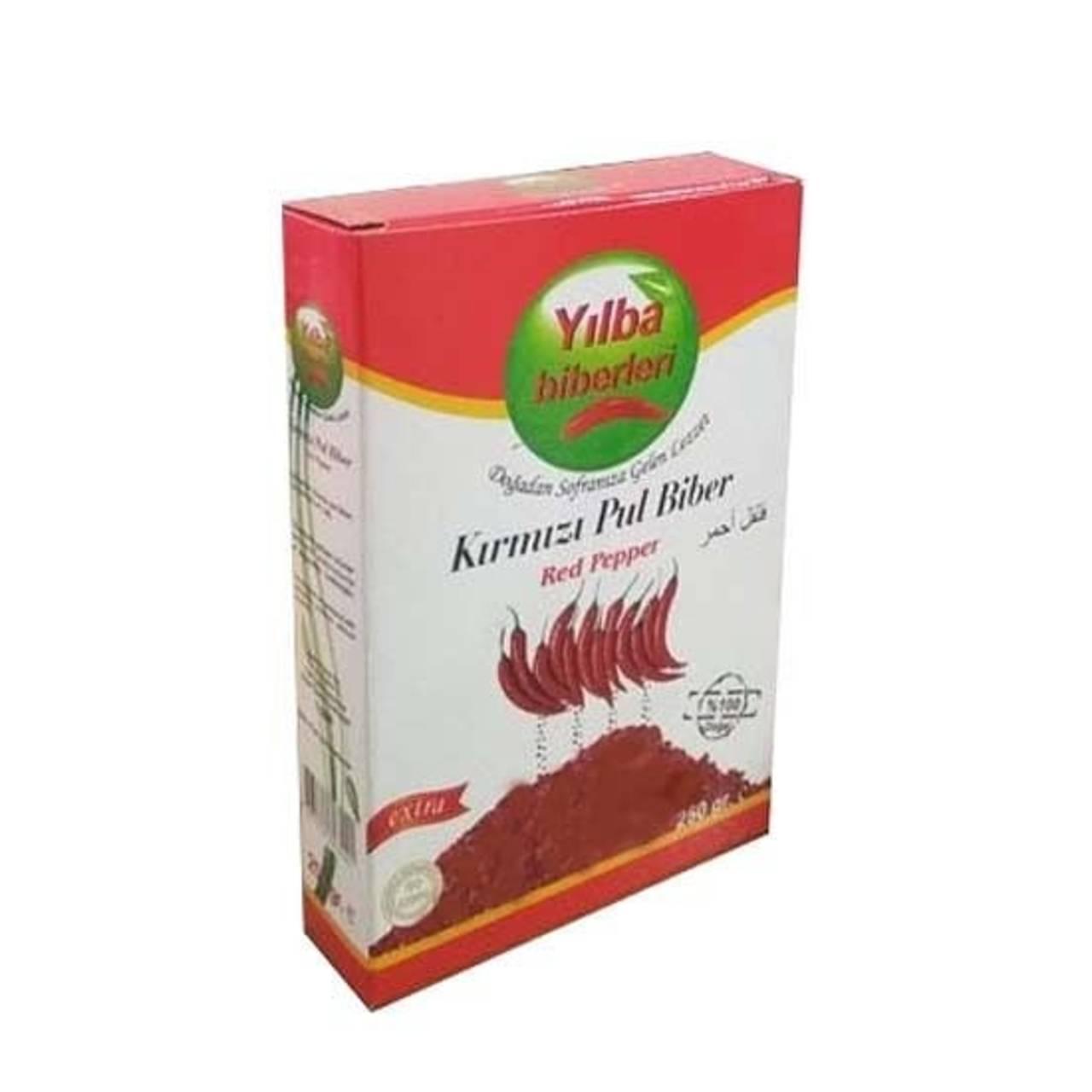 فلفل قرمز ترکیه ای پولبیبر یلبا اصل ترک ۲۵۰ گرمی